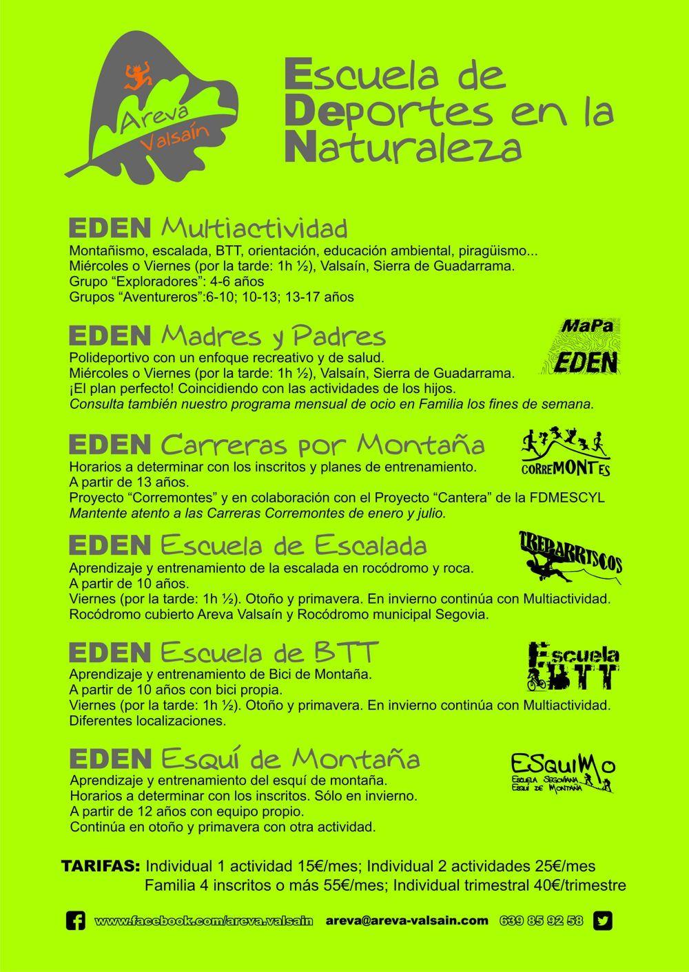 EDEN `17-18 Niños y jóvenes