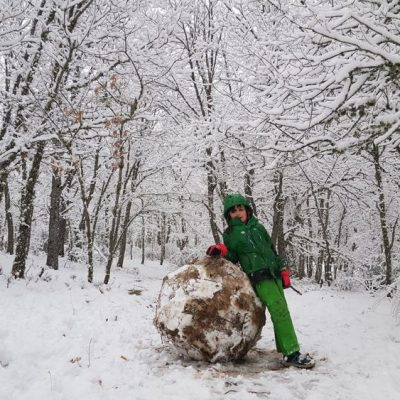 Juegos en la nieve en EDEN multiactividad