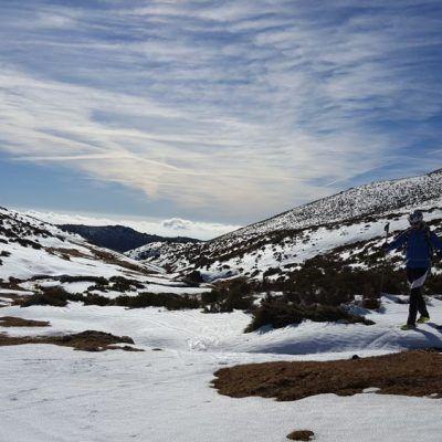 Esquí de montaña, Sierra de Guadarrama