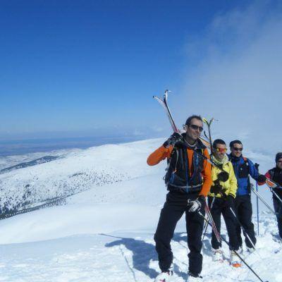 Esquí de montaña, Segovia