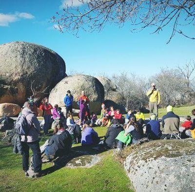 Geocaching por El Berrocal de Ortigosa del Monte, Segovia