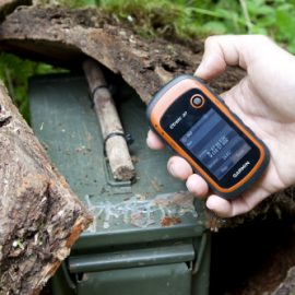 Geocaching con GPS