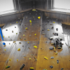 Cumple aventura escalada en rocódromo indoor