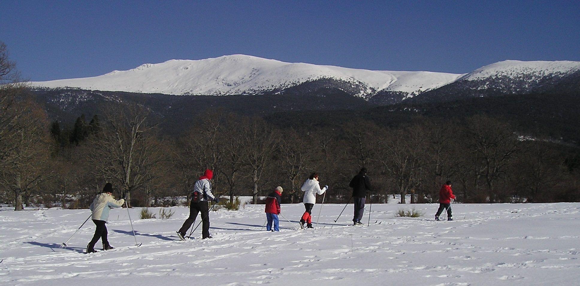 Esquí de fondo por El Parque de Valsaín