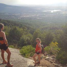 Natural T-running, subida al chorro grande de La granja, Segovia