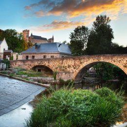 Puente junto a la Casa de la Moneda, Segovia