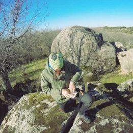 Geocaching (búsqueda de tesoros) con gps