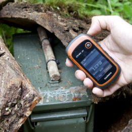 Geocaching con GPS